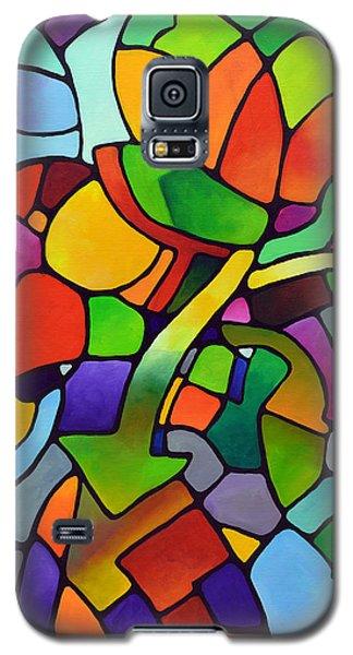 Mosaic Bouquet Galaxy S5 Case