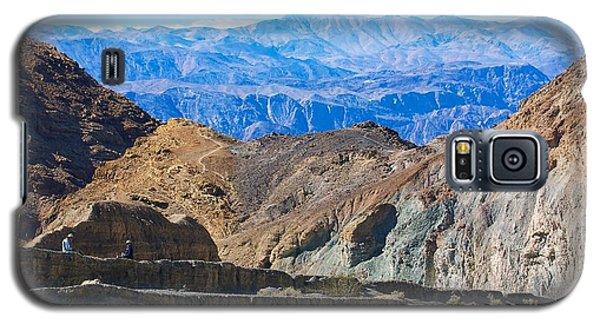 Mosaic Canyon Picnic Galaxy S5 Case by Stuart Litoff