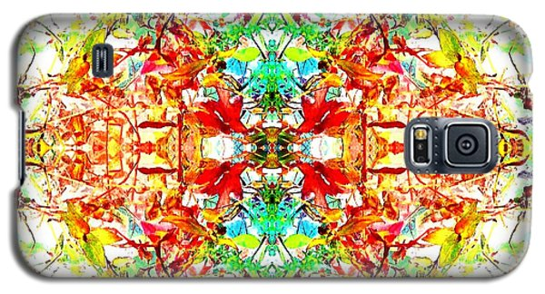 Mosaic Of Spring Abstract Art Photo Galaxy S5 Case by Marianne Dow