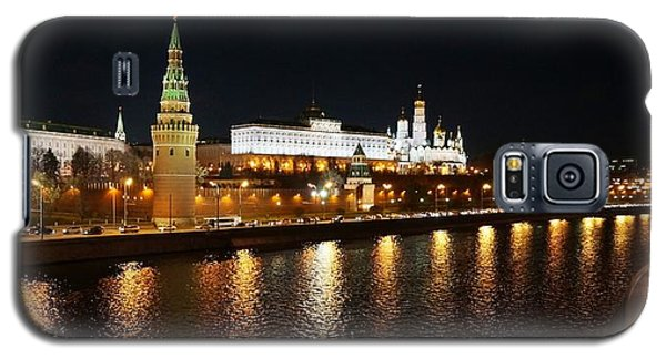 Galaxy S5 Case featuring the photograph Moscow River by Julia Ivanovna Willhite