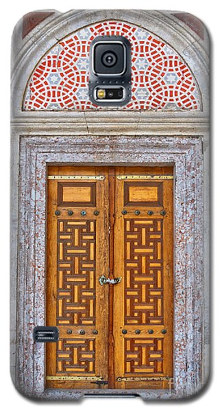 Mosque Doors 04 Galaxy S5 Case by Antony McAulay