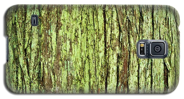 Galaxy S5 Case featuring the photograph Moss On Tree Bark by Crystal Hoeveler