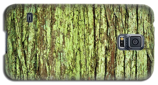 Moss On Tree Bark Galaxy S5 Case