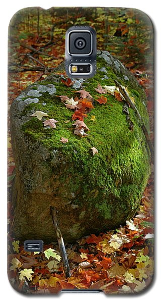 Galaxy S5 Case featuring the photograph Mossy Rock by Sandra Updyke
