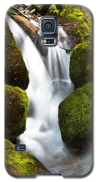 Galaxy S5 Case featuring the photograph Mossy Water by Steven Reed