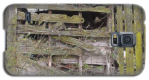 Galaxy S5 Case featuring the photograph Mossy Wood by Lew Davis