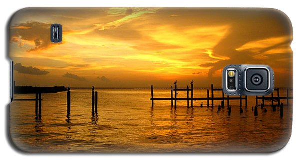 Galaxy S5 Case featuring the photograph Most Venerable Sunset by Kathy Bassett
