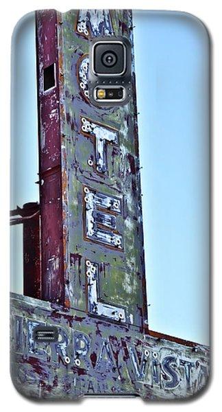 Motel Sierra Vista Vintage Neon Sign Galaxy S5 Case