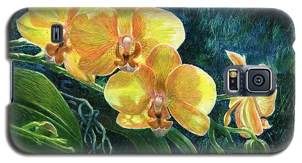 Moth Orchids Galaxy S5 Case by Sandra LaFaut