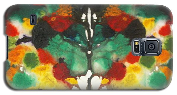 Galaxy S5 Case featuring the painting Moth by Thomasina Durkay