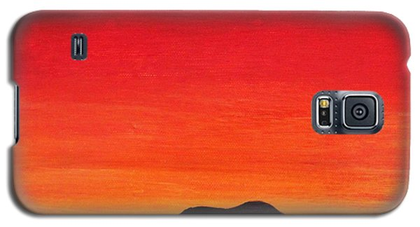 Galaxy S5 Case featuring the painting Mother Africa 5 by Michael Cross