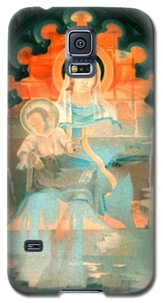 Mother And Child By Fabriano 1975 Galaxy S5 Case