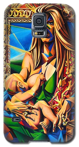 Mother And Child Galaxy S5 Case by Greg Skrtic