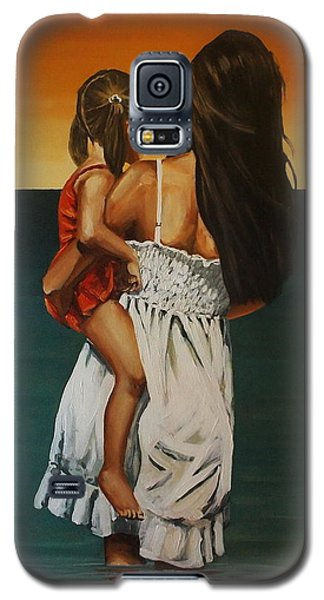 Mother And Daughter II Galaxy S5 Case
