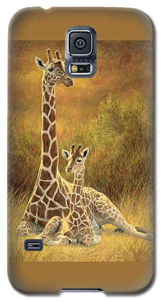 Mother And Son Galaxy S5 Case by Lucie Bilodeau