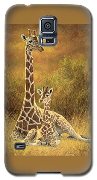Cow Galaxy S5 Case - Mother And Son by Lucie Bilodeau