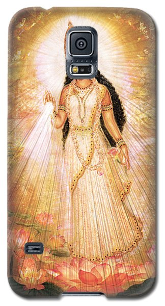 Mother Goddess With Angels Galaxy S5 Case