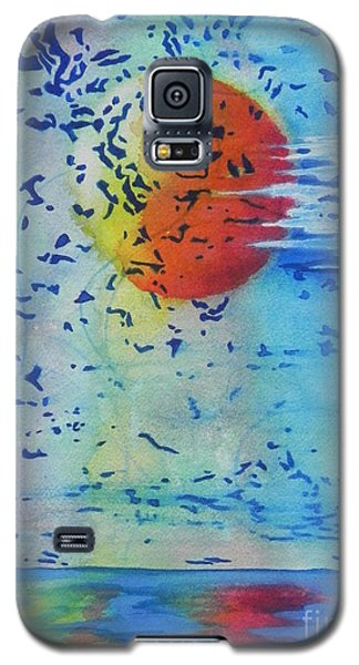 Galaxy S5 Case featuring the painting Mother Nature At Her Best  by Chrisann Ellis