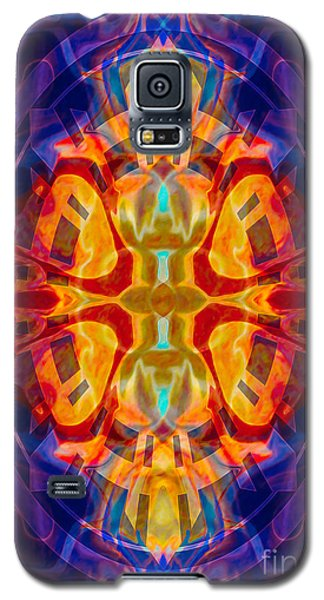 Mother Of Eternity Abstract Living Artwork Galaxy S5 Case