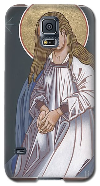 Galaxy S5 Case featuring the painting Mother Of God Waiting In Adoration 248 by William Hart McNichols