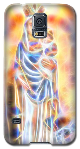 Galaxy S5 Case featuring the painting Mother Of Light by Dave Luebbert