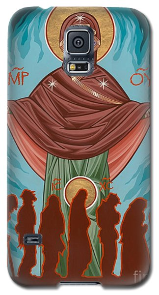Mother Of Sacred Activism With Eichenberg's Christ Of The Breadline Galaxy S5 Case