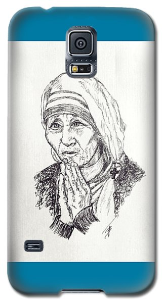Mother Teresa Galaxy S5 Case