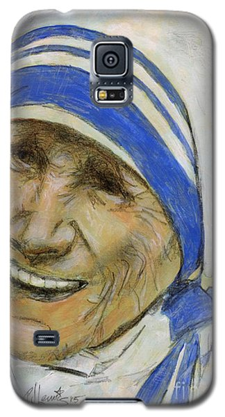Mother Teresa Galaxy S5 Case by P J Lewis