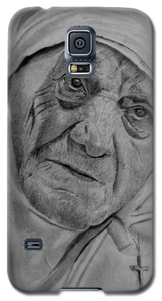 Mother Theresa-close Up Galaxy S5 Case