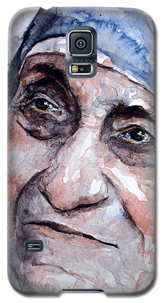 Mother Theresa Watercolor Galaxy S5 Case by Laur Iduc