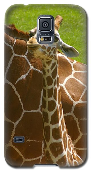 Galaxy S5 Case featuring the photograph Mother's Child by Randy Pollard