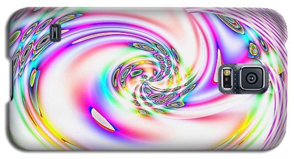 Mother's Love Modern Abstract Art Galaxy S5 Case by Annie Zeno