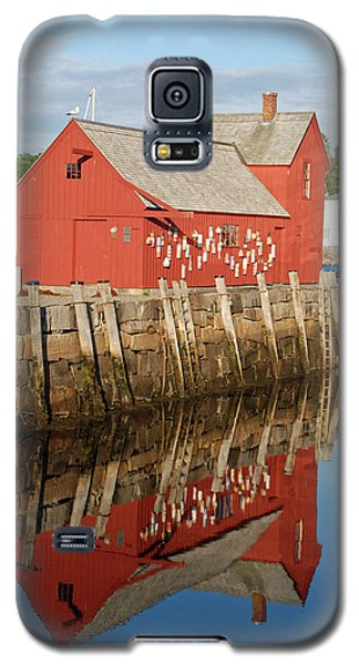 Galaxy S5 Case featuring the photograph Motif 1 With Reflection by Richard Bryce and Family