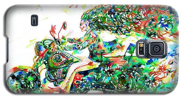 Motor Demon Running Fast Galaxy S5 Case