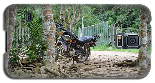 Galaxy S5 Case featuring the photograph Motorbike by Ronda Broatch