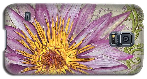 Ladybug Galaxy S5 Case - Moulin Floral 1 by Debbie DeWitt
