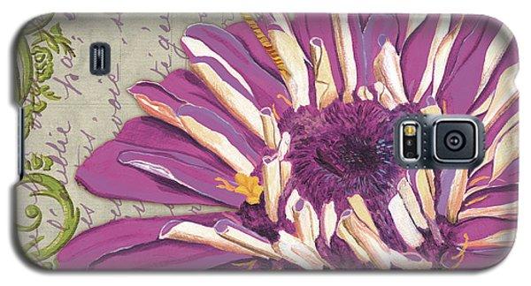 Ladybug Galaxy S5 Case - Moulin Floral 2 by Debbie DeWitt