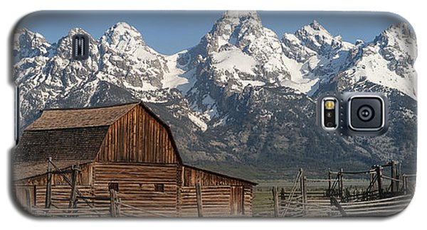 Moulton Barn - Grand Tetons I Galaxy S5 Case