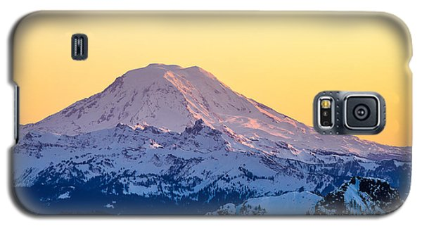 Mount Adams Sunset Galaxy S5 Case