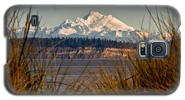 Mount Baker From Port Townsend Galaxy S5 Case