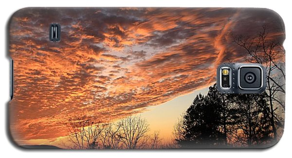 Galaxy S5 Case featuring the photograph Mount Cheaha Sunset-alabama by Mountains to the Sea Photo