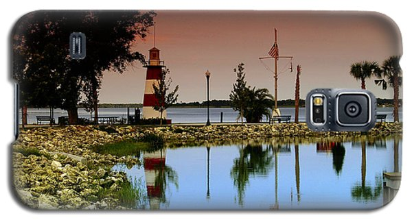 Mount Dora Lighthouse Galaxy S5 Case by Randy Sylvia