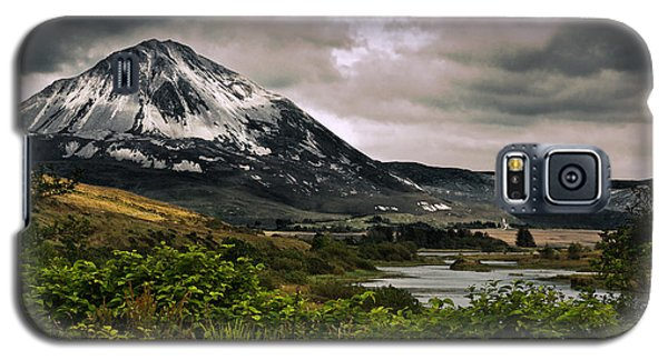 Galaxy S5 Case featuring the photograph Mount Errigal by Jane McIlroy