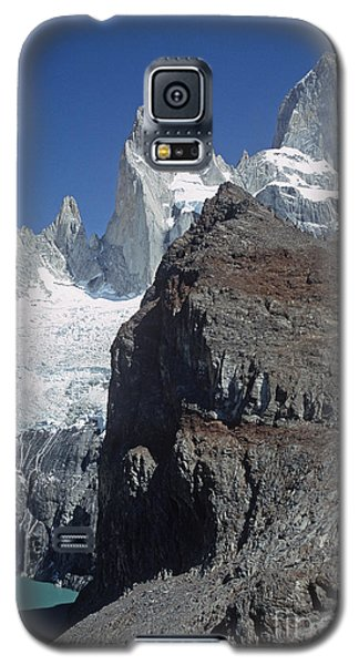 Galaxy S5 Case featuring the photograph Mount Fitzroy Patagonia by Rudi Prott