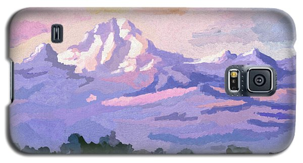 Mount Kenya At Dawn Galaxy S5 Case