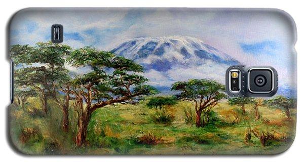 Mount Kilimanjaro Tanzania Galaxy S5 Case
