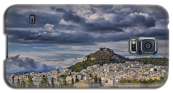 Galaxy S5 Case featuring the photograph Mount Lycabettus In Late Afternoon by Micah Goff