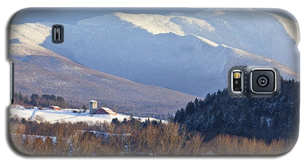 Mount Mansfield Winter Galaxy S5 Case