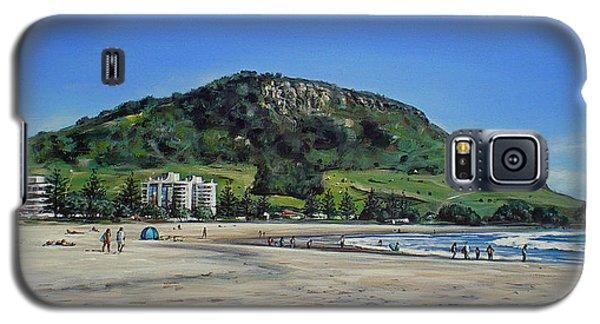 Mount Maunganui Beach 151209 Galaxy S5 Case by Sylvia Kula
