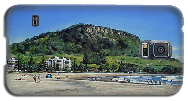Mount Maunganui Beach 151209 Galaxy S5 Case
